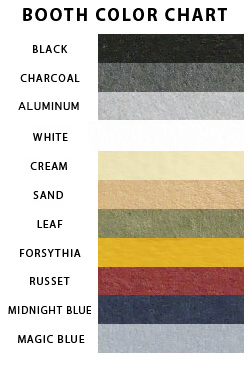 booth color chart